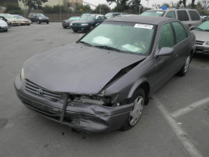 Toyota Camry donated in California